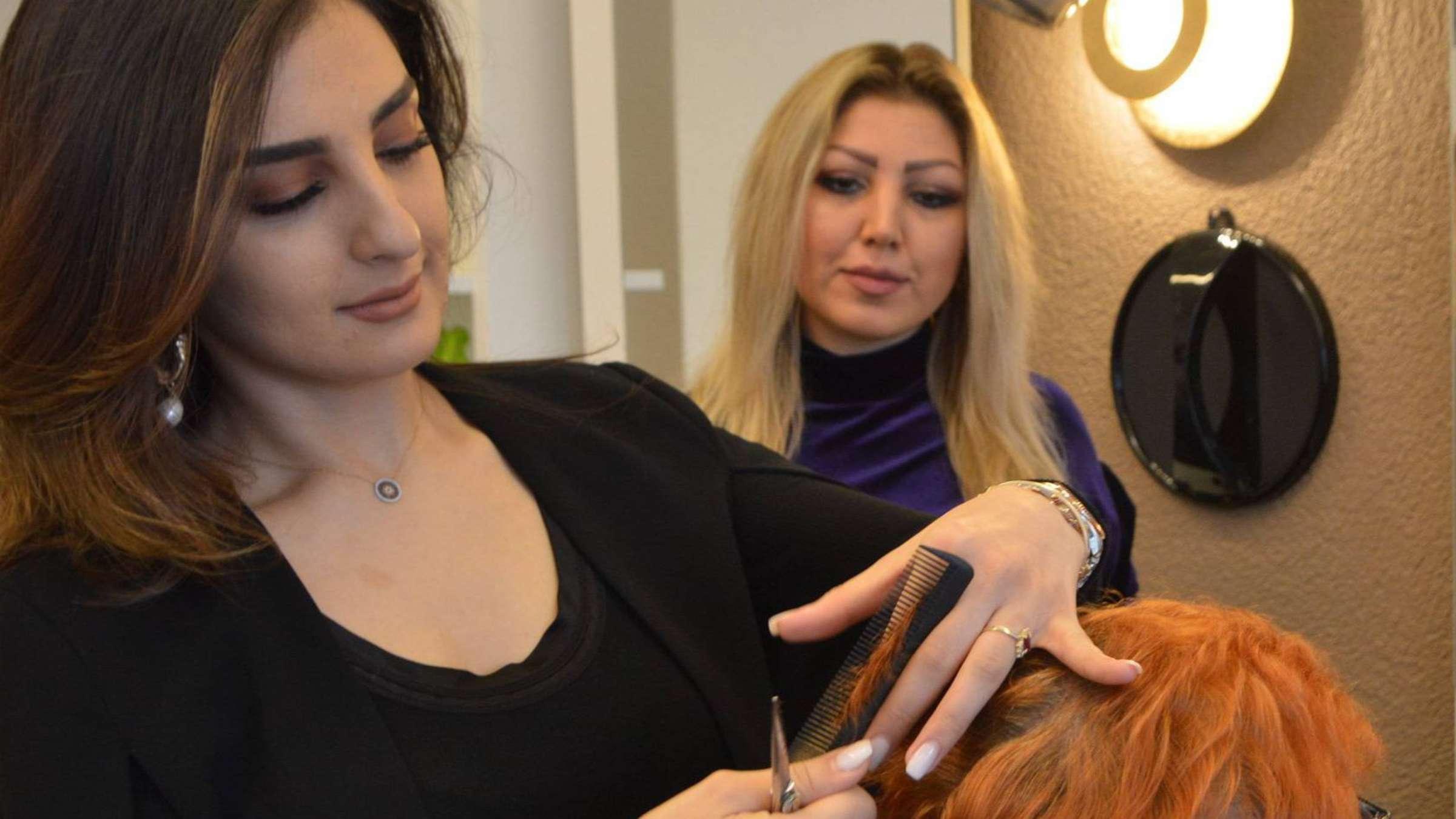 Rödermark Friseurmeisterin Lina Habibullah ist eine der Besten ...