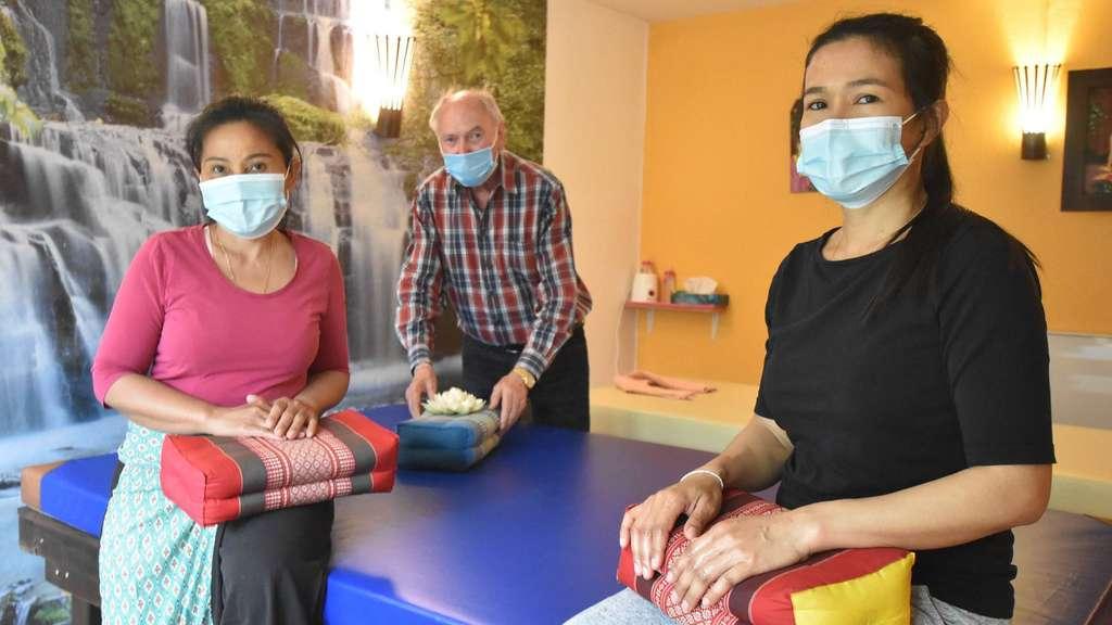 Corona in Obertshausen: Massagestudios können Einnahmen