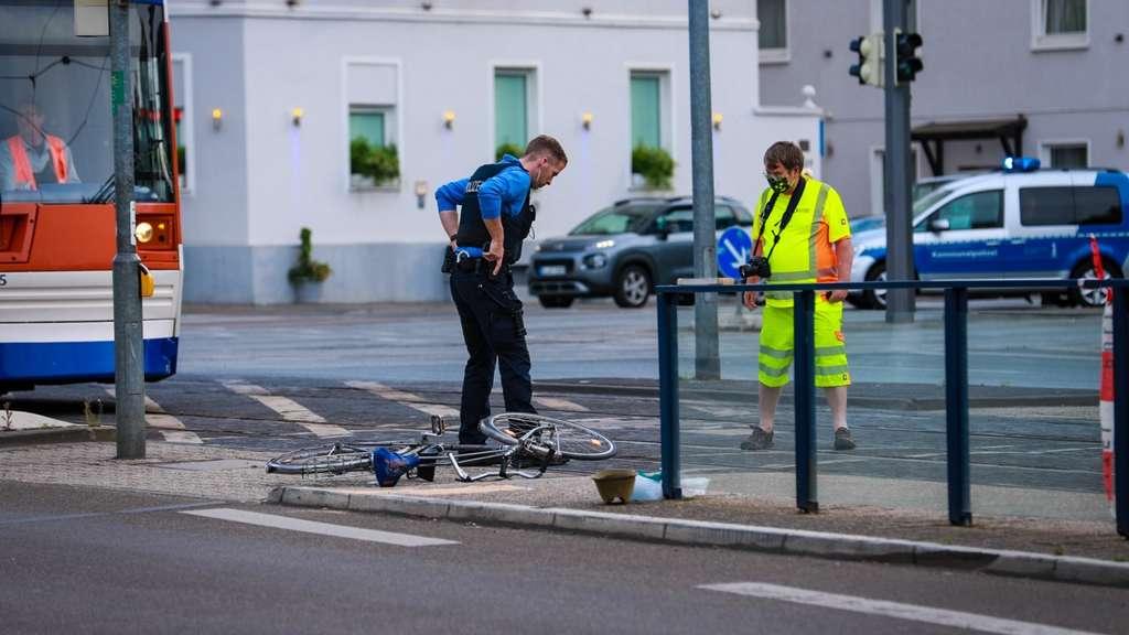 Unfall Darmstadt