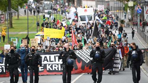 Klimastreik in Hessen: Tausende bei Fridays-for-Future-Demos in Frankfurt