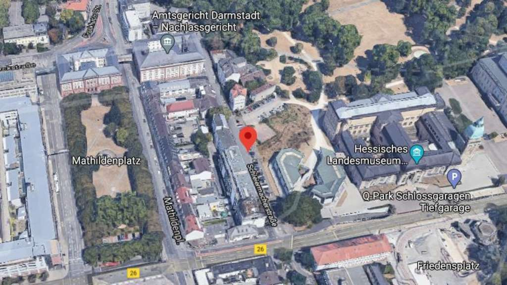 Polizeieinsatz Darmstadt