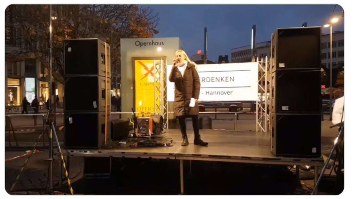 Corona Demo Hannover