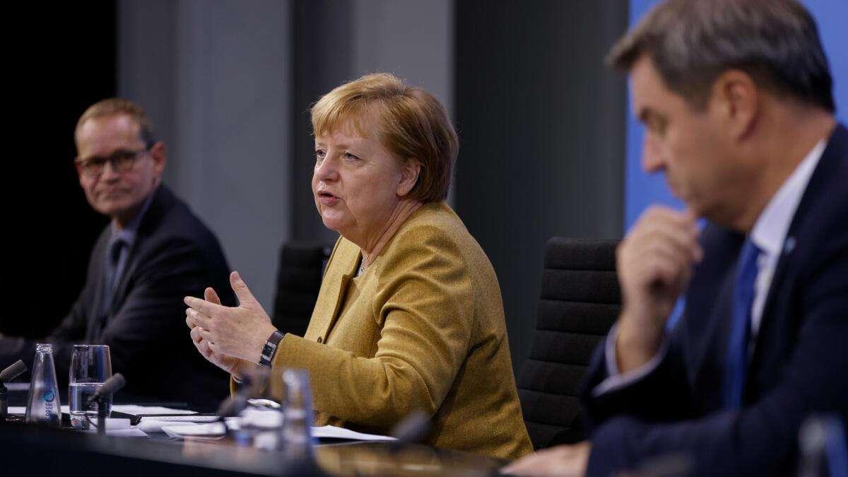 Bundeskanzlerin Angela Merkel: Kanzlerin rügt intern Laschet und Co. -...