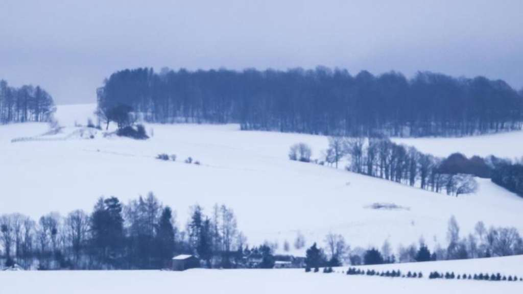 Winter in Sachsen