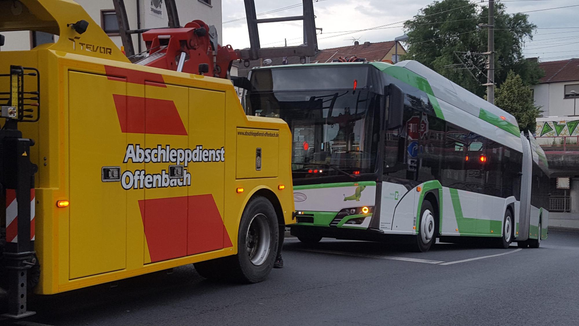 Zu viel erhofft? Elektrobusse in Offenbach schaffen Steigung nicht