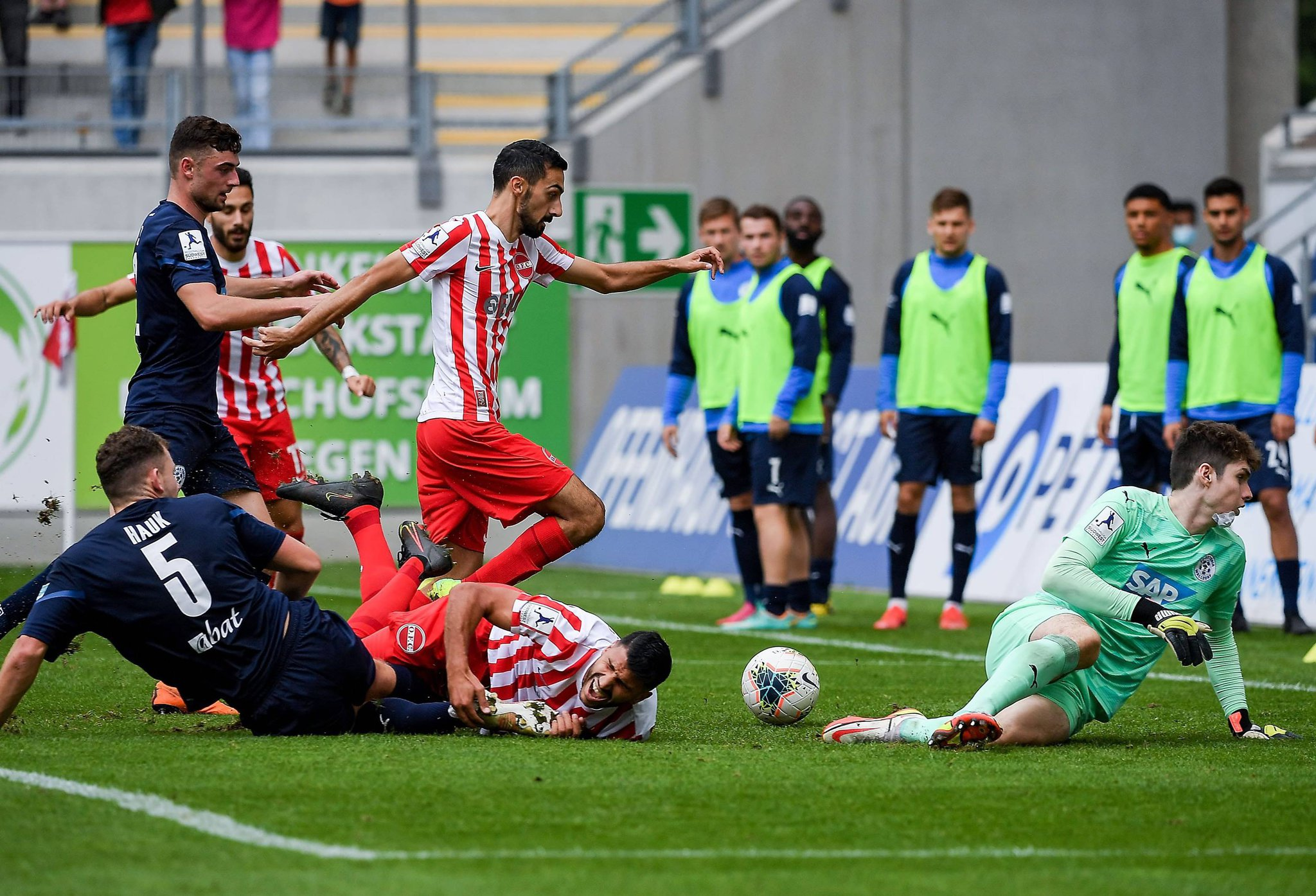 Kickers Offenbach: Traumtor als Dosenöffner gegen Astoria Walldorf